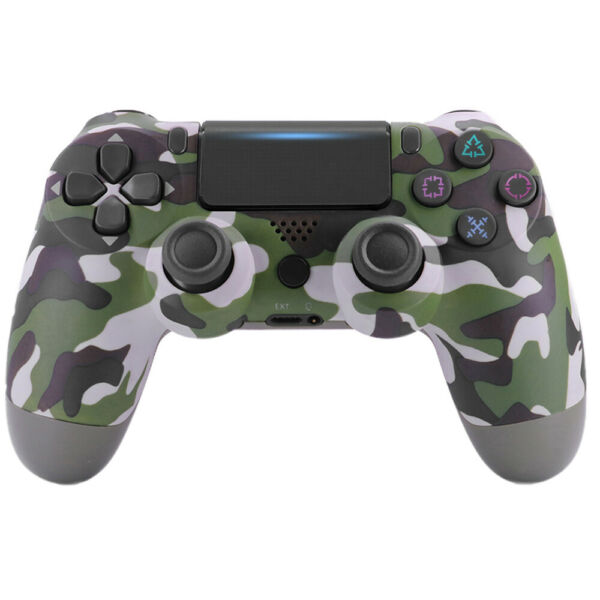 PS4 controller wireless for Sony Playstation 4 Double Vibration ⭐ Green Camo $42.99