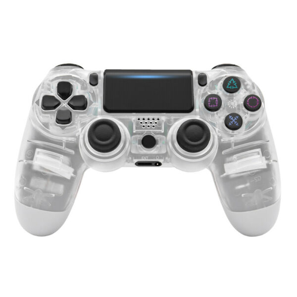 PS4 controller wireless for Sony Playstation 4 Double Vibration ⭐ Crystal Clear $42.99