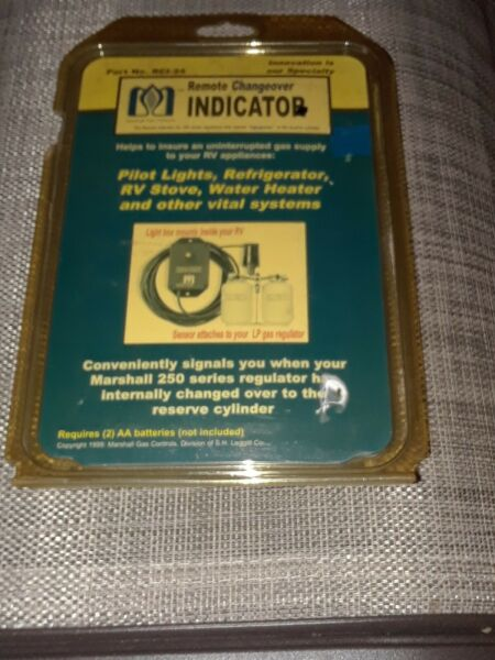 NOS Marshall Gas Controls Remote Changeover Indicator P N: RCI 24 $39.99