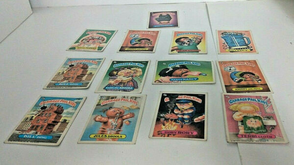 1980 Garbage Pail Kid Cards