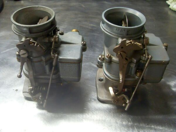 Two Stromberg 97 carbs. $465.00