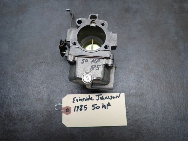 1985 Evinrude Johnson Outboard 50 HP Upper Carburetor Carb 396310 $50.00