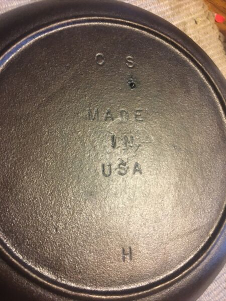 Older Lodge Cast Iron 10quot; Chef Skillet C S