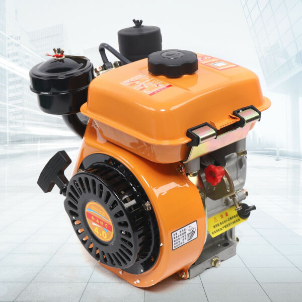 168F 4Stroke Vertical air cooled diesel engine single cylinder Hand Recoil Start $253.01
