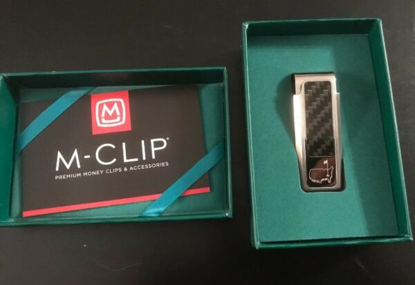 Augusta National Masters Golf Carbon Money Clip NEW $349.99