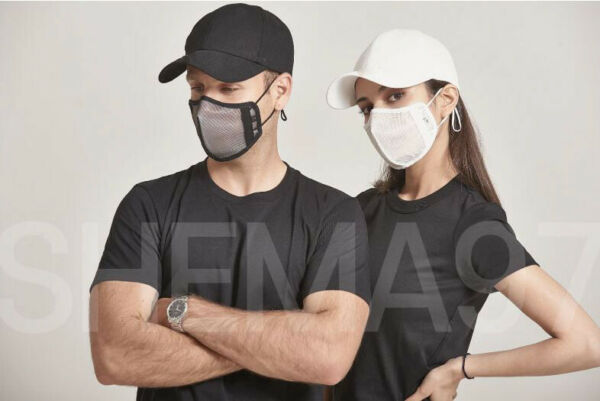 Shema97 Functional Active Mask SEC Coaches are Wearing Blk Lrg now with lanyard