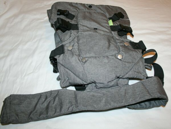 Zimo Adjustable Baby Carrier 4 in 1 Ergonomic Convertible Carrier w Waist Strap $24.28