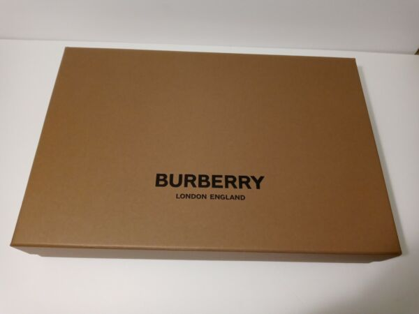 Burberry gift box 10 x 15 x 3 $27.99