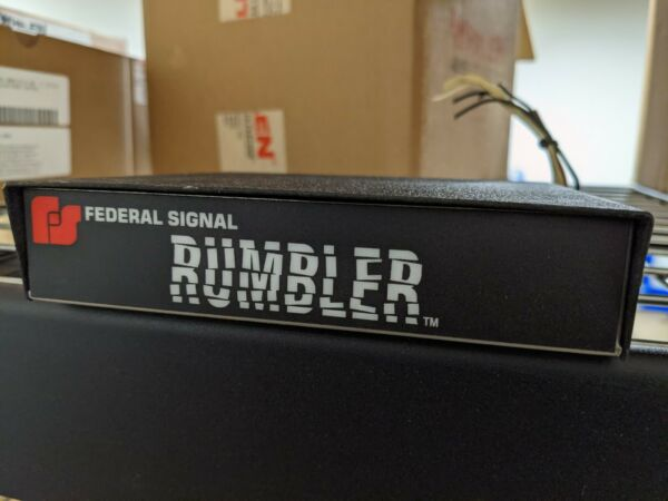 Federal Signal Rumbler Amplifier