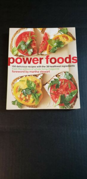 Power Foods: 150 Delicious Recipes W 38 Healthiest Ingredients Softcover Book $4.49