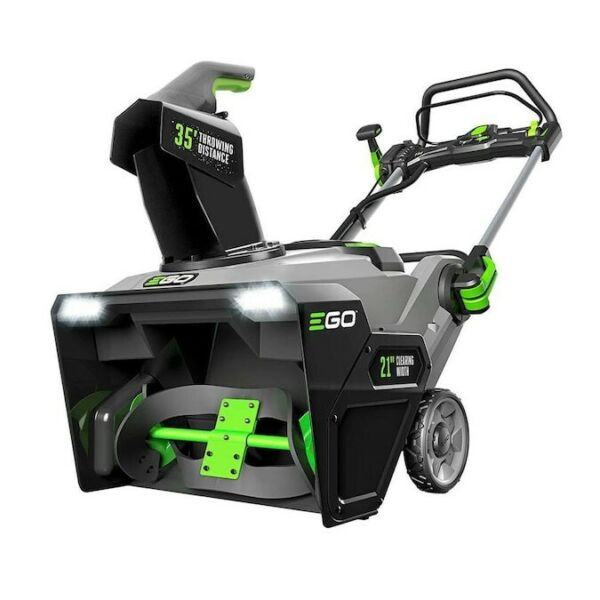 """EGO POWER 56 Volt 21"""" Single Stage Cordless Snow Blower w Battery SNT2102"""