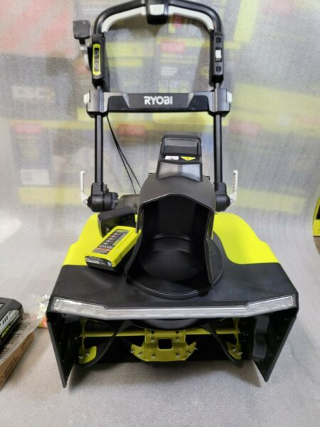 quot;NEWquot; Ryobi 21 in. 40V Brushless Cordless Snow Blower RY40806 w 2 5Ah Batteries