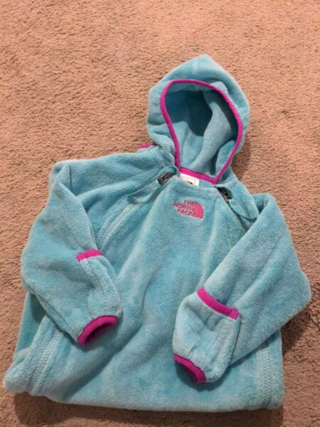 The North Face Soft Fleece Bunting Infant 6 12 Months Baby Girl