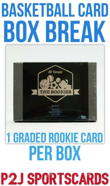 20 21 Hit Parade THE ROOKIES Basketball CARD BOX BREAK 1 RANDOM TEAM Break 4200