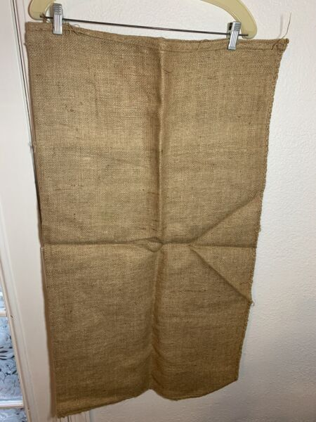 Burlap Bags Lot Of 7 Burlap Sacks Potato Sack Race Bags Sandbags Gunny Sack