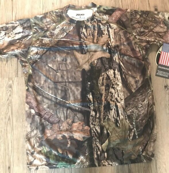XGO Made in USA Mossy Oak Breakup Country Camo Tee L