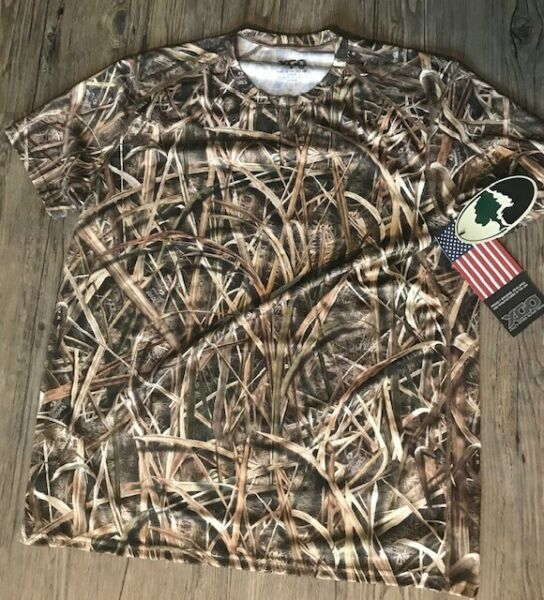 XGO Made in USA Mossy Oak Shadow Grass Camo Tee L