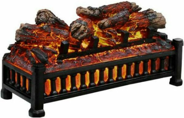 Pleasant Hearth LED Electric Log With Adjustable Crackling Noises L 24*****