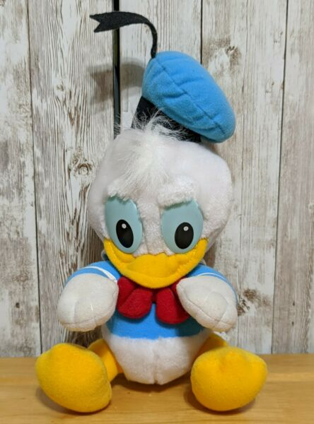 Disney Babies Donald Duck Playskool vintage plush stuffed animal 1984 7quot; $12.95
