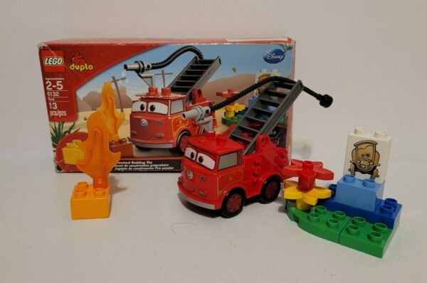 Lego Duplo Disney Pixar Cars Red 6132 Complete 2012 With Box Fast Shipping