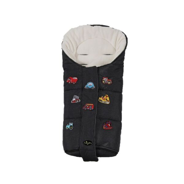 CozyMe Superme Comfortable Winter Stroller Bunting Bag with DIY Fun Play Mats...