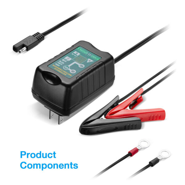 12V 6V Auto Battery Charger Motorcycle Trickle Float For Tender Maintainer Lot $34.29