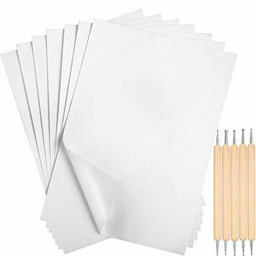 Outus White Carbon Transfer Paper 11.7 x 8.3 Inch Tracing Paper Carbon Graphite $16.14