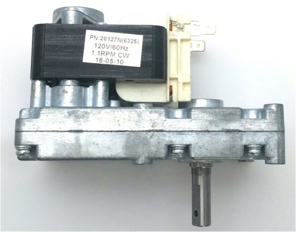 WHITFIELD Auger Motor Pellet Stove Feed Fuel Motor H5886 12046300 PH CW1 $37.00