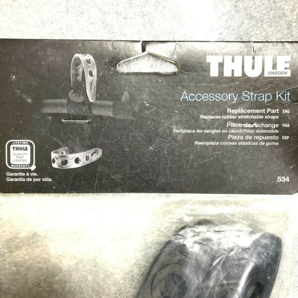 Thule 534 Accessory Strap Kit 4 rubber stretchable straps For Bike Rack amp; More $34.99