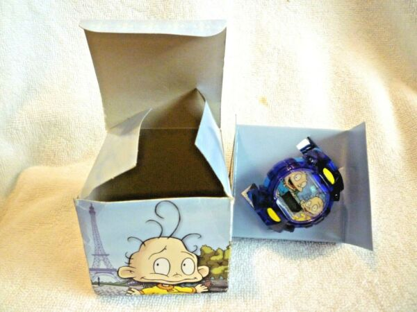 2000 Rugrats In Paris Tommy And Dil Chatback Watch $15.00