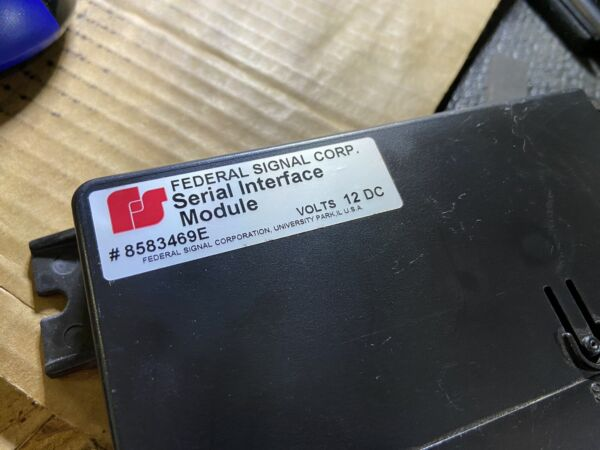 Federal Signal Serial Interface Module