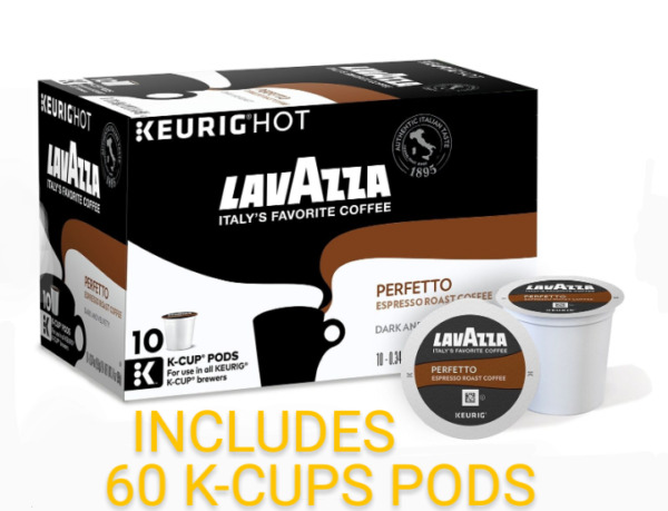 Lavazza Perfetto Coffee Keurig K Cups 60 Count