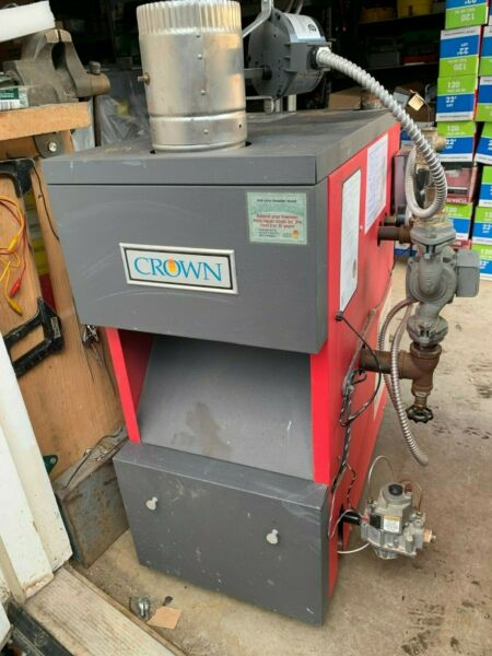 Crown Gas Hot Water Boiler  $600.00