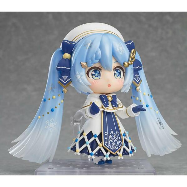 NEW Snow Miku 2021 Glowing Snow Nendoroid Figure Good Smile Company