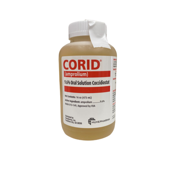 Corid 9.6% Oral Solution for Cattle 16 oz. $23.95