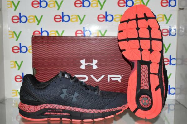 Under Armour Men#x27;s UA HOVR Guardian 2 Running Shoes 3022588 500 Black Red Purple $89.99