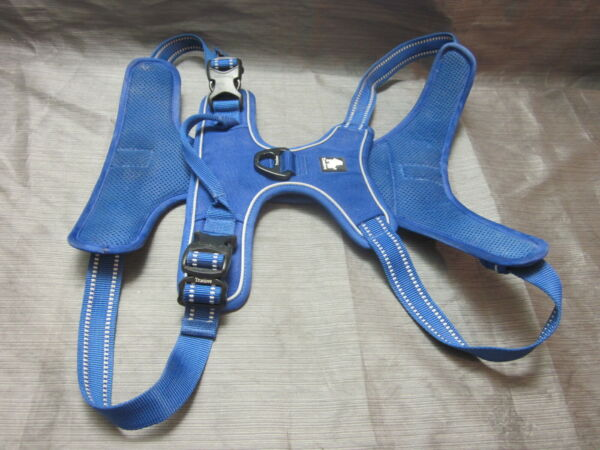 Truelove Soft Front Dog Harness Reflective No Pull Harness Blue Size XL TLH5651 $18.99