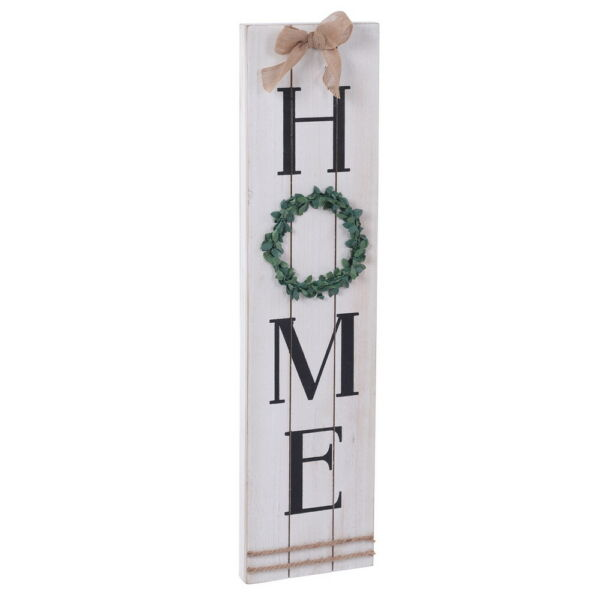 Spring Vertical HOME Sign Plaque Wall Decor Decoration Distressed Look Wood $39.65