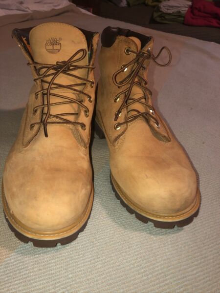 Mens Timberland Work Boots 37578 Size 12M $53.99