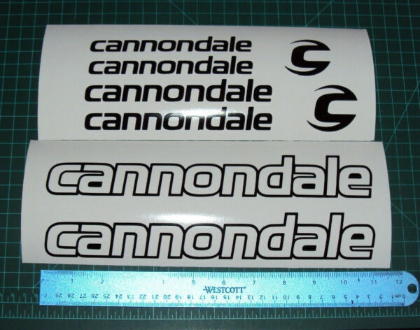 Cannondale Bike Decal Sticker Outline Set MTB DH Cycling Road Racing Fixie 1 $9.00