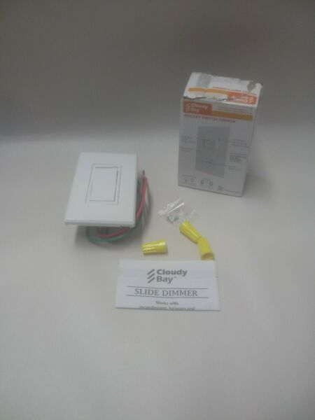 Cloudy Bay in Wall Rocker Dimmer Switch 3 Way Single Pole Cover Plate Included $15.50