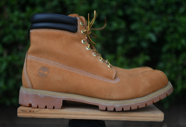 Timberland Work Boots  Size: US 14 M Tan leather $125.00