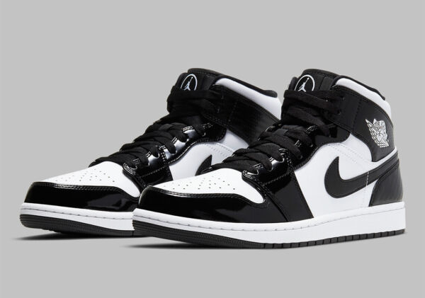 Nike Air Jordan 1 Mid SE ASW Carbon Fiber Black White DD1649 001 Men#x27;s or GS NEW