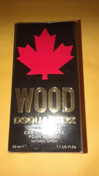 Dsquared2 Wood perfume For men 1.7oz 50ml. NEW in BOX 100% AUTHENTIC $48.50