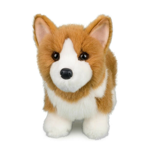 LOUIE the Plush CORGI Dog Stuffed Animal by Douglas Cuddle Toys #1713 $14.45