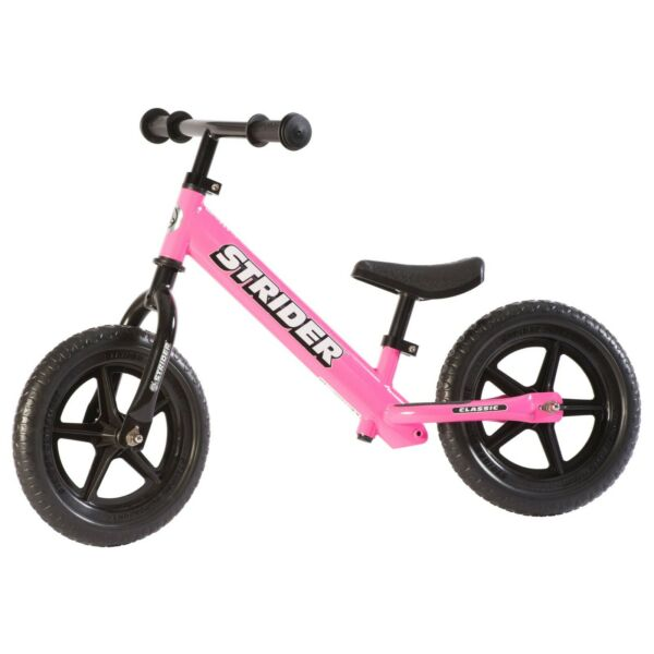 STRIDER CLASSIC 12quot; BALANCE BIKE FOR KIDS NO PEDAL LEARNING BIKE PINK NEW $87.99