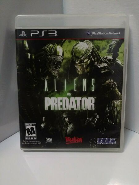 Aliens vs Predator Video Game PlayStation 3 PS3 COMPLETE w Manual No Scratches