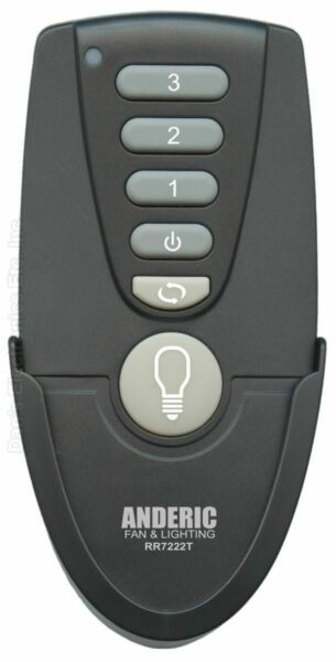 ANDERIC UC7222T CHQ7222T For Hampton Bay Ceiling Fan Remote Control $19.95