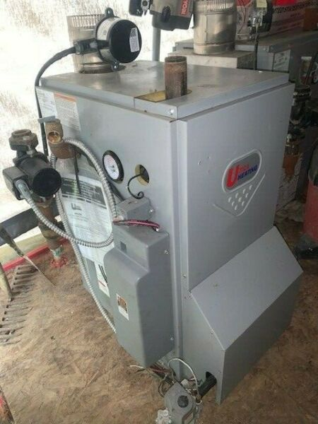 Utica gas hot water boiler $850.00