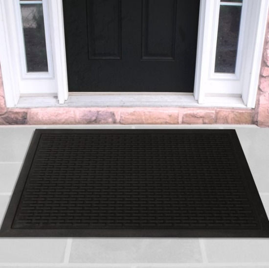 Outdoor Door Mat Commercial Entrance Indoor Floor Rubber Entry Rug Non Slip Safe